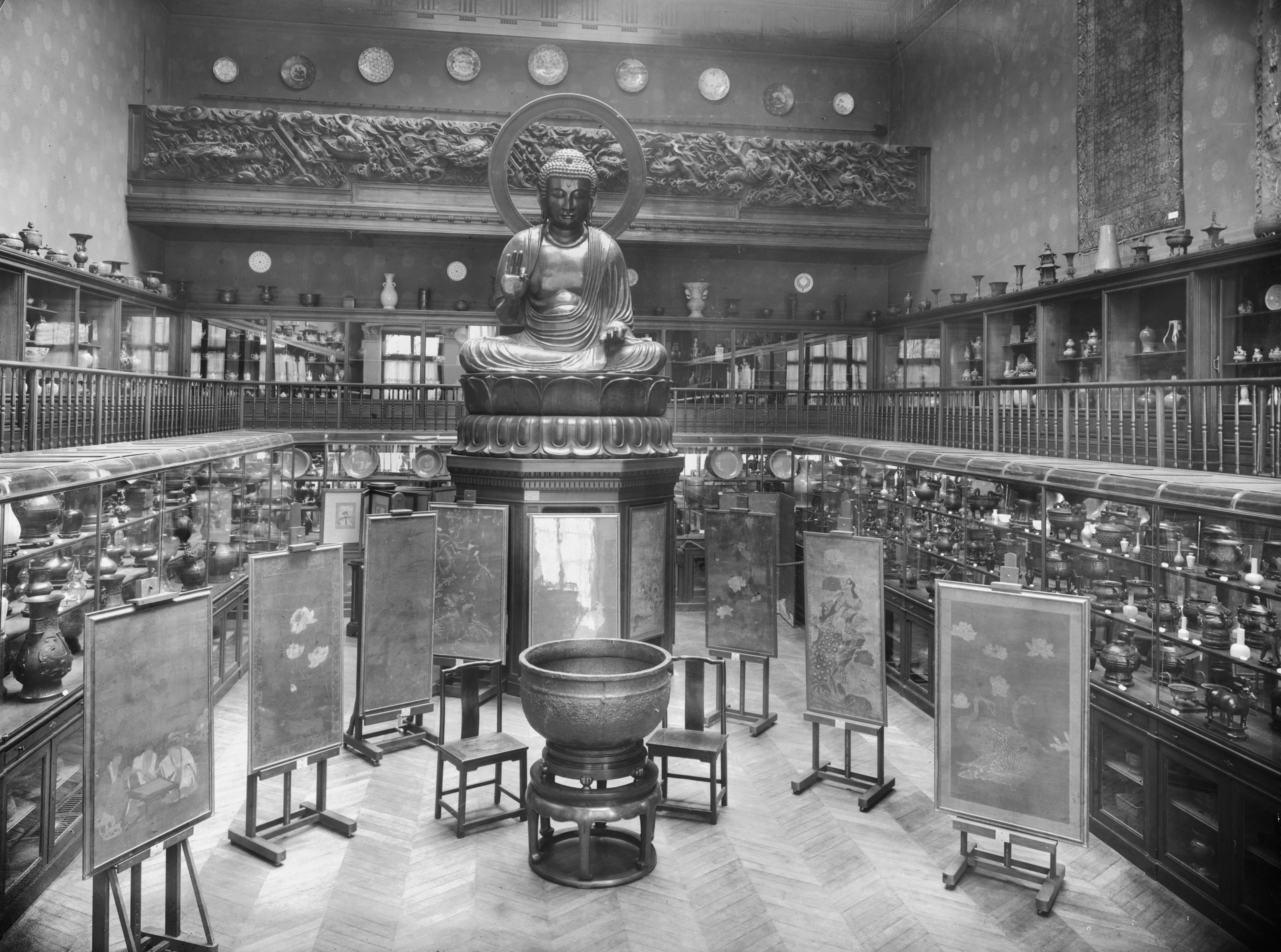 Salle du Bouddha (ancienne présentation)