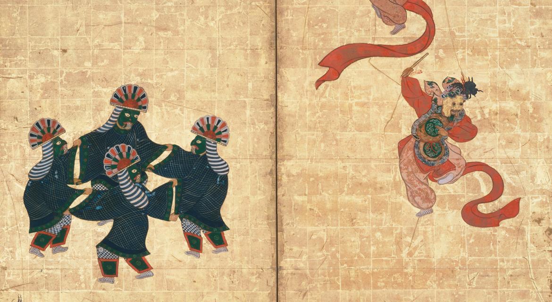 Danseurs de Bugaku