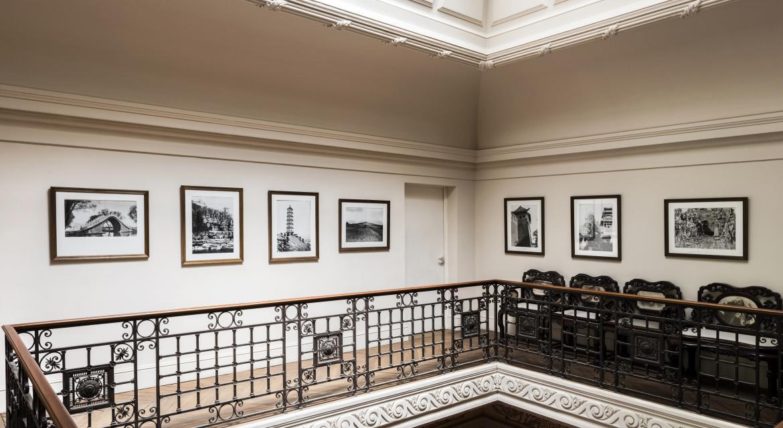 Photographie du dernier étage du musée Cernuschi