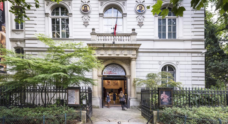 Photo de la façade du Musée Cernuschi