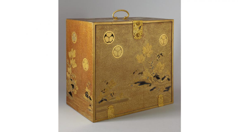 Cabinet portatif à ustensiles époque Edo