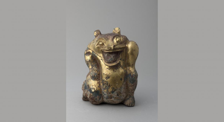 Ours en bronze doré