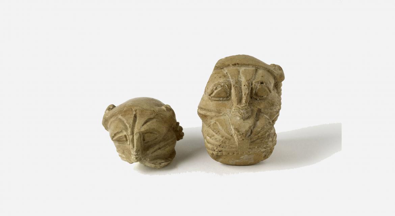 Fragment de tête de lion en ronde bosse. Iran, Ziwiyé. Fin du VIIème siècle av. J.-C. Paris, musée Cernuschi.