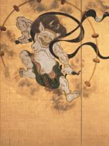 Tawaraya Sōtatsu, Dieux du vent et du tonnerre