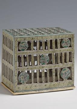 Brûle-parfum de jade, porcelaine,four de Jingdezhen, Dynastie des Qing, règne de l'empereur Kangxi (1661-1722), musée de Shanghai © Musée de Shanghai
