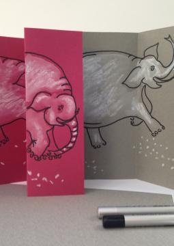 Portrait de l'éléphant blanc