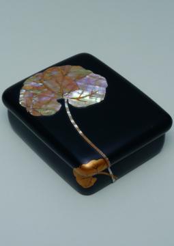 Kamisaka Sekka, boîte motifs de lotus, Musée Hosomi, Kyōto Ogata Kōrin,
