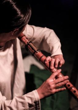 Song Ji-yun, flûte daegum