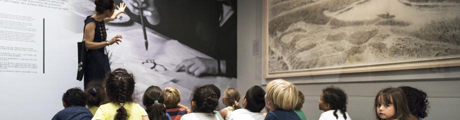 Activités scolaires musée Cernuschi© musée Cernuschi / Pierre Antoine